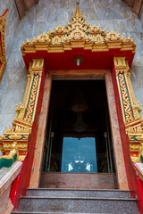 Printed roller blinds China the shrine of the Buddhist temple Wat Chalong on Phuket island of Thailand