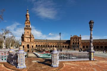 Plaza de España, Sevilla, Spain