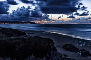 landscape in the coast of lugo