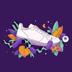 Tropical Sneaker