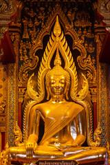 Public Somdej Nang Phraya statue in Thai art