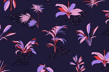 Tropical Plant Pattern