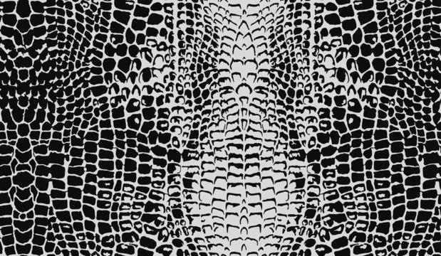 Seamless Crocodile Skin Pattern