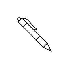Pen icon graphic design template vector