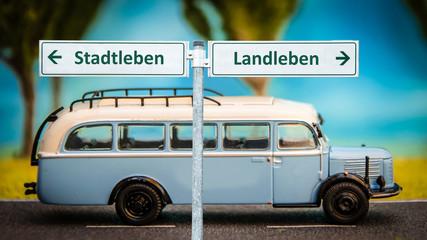 Schild 363 - Landleben