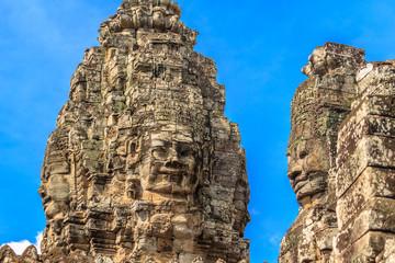 Angkor Thom Buddhist Temple. Cambodia