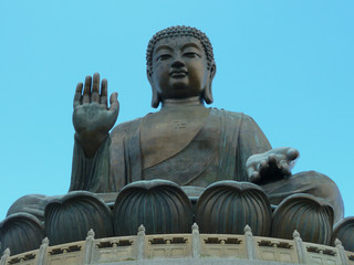 The 'Big Buddha' in Hong Kong