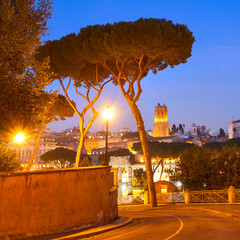 Wall Mural - Evening in Rome