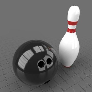 Ball and pin