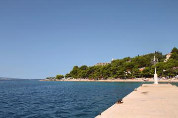 Mediterranean town Brela , Croatia