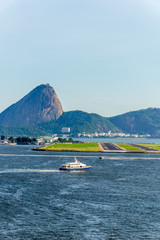 Photo sur Aluminium Rio de Janeiro from seaside point of view, Brazil