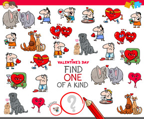 find one of a kind Valentines Day picture