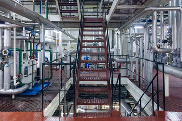 Production of specialized fats and food additives Industrial Plant