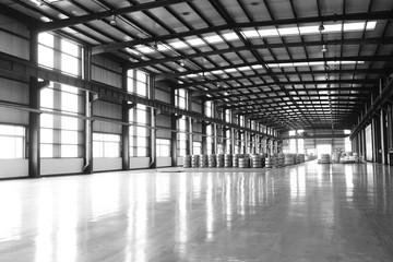 Cold rolled strip, in spacious workshop