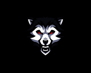 mascot logo illustration
