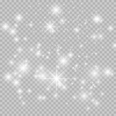 white, sparkle, sparkles, dust, vector, star, christmas, background, stars, light, magic, abstract, glitter, transparent, pattern, shine, twinkle, effect, special, isolated, magical, spark, flare, spa