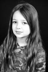 Beautiful young girl portrait