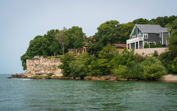 View from the Lake at Put-in-Bay, Ohio
