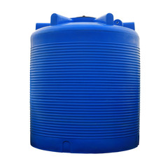 Picture of plastic water tanks.