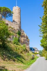donjon du château de Turenne, Corrèze, France
