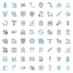 emblem icons set