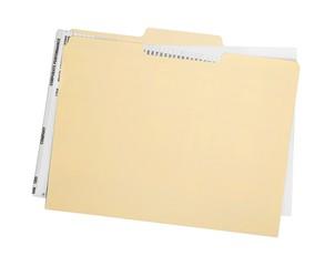 File Folder with Documents - fototapety na wymiar