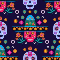 Skull pattern30