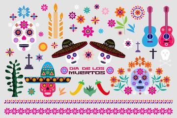 Mexican set elements5