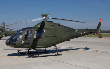 Polish military helicopter
