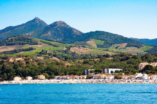 Argeles-sur-Mer in Pyrenees-Orientales department, Languedoc-Roussillon region