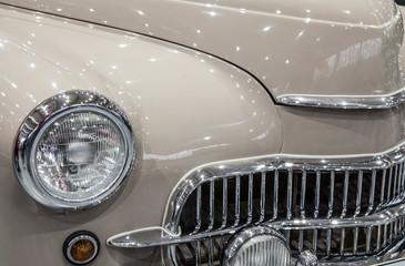 Printed roller blinds Vintage cars A historic Polish car