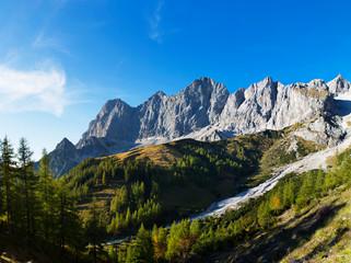 Austria, Styria, Salzkammergut, Dachstein massif, Dachstein south face