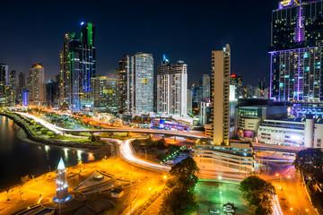 Panama, Panama City, skyline