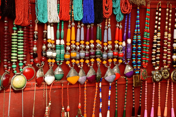 Colorful Indian women accessories