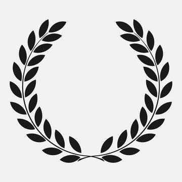 icon laurel wreath