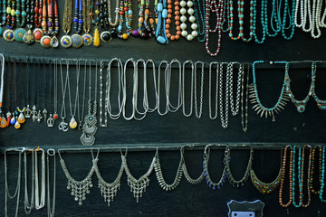 Beautiful collection of antique necklaces