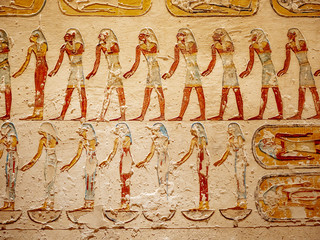 Valley of The Kings burial place for Egyptian Pharaohs from the ancient civilization