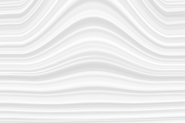 Foto op Aluminium Abstract wave The white texture of the stripes with the effect of 3D, the line of gray light color. Art background for wallpaper pattern and packaging in modern style.