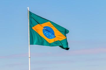 Foto op Canvas Brazilië Bandeira brasileira