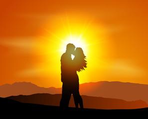 Valentinstag Romantik