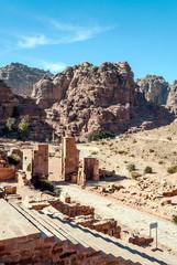Photo sur Aluminium Ruins of Petra