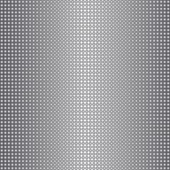 Shiny metal circles seamless silvery dotted pattern