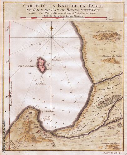 Cape Of Good Hope Map on