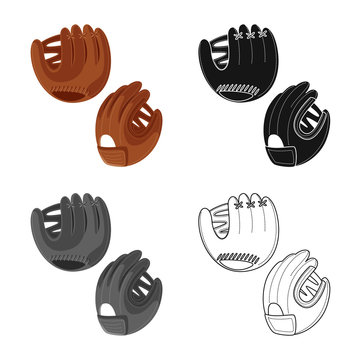 Vector illustration of silhouette and safety icon. Collection of silhouette and comfort stock vector illustration.