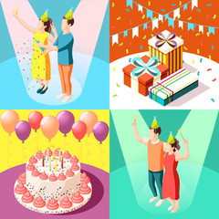 Birthday Party 2x2 Design Concept