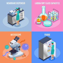 Microbiology Icon Set