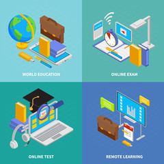 Online Education IConcept cons Set