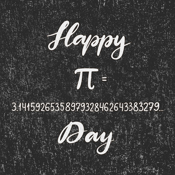 Vector illustration for Happy Pi Day.