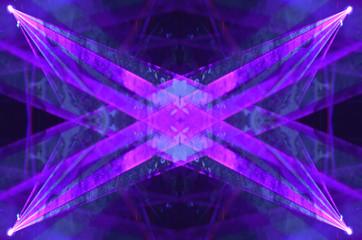 Electronic lasar light pattern background