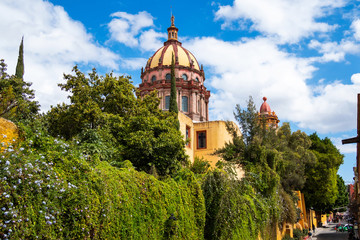 San Miguel de Allende, Mexico, Church of the Immaculate Conception During Daytime